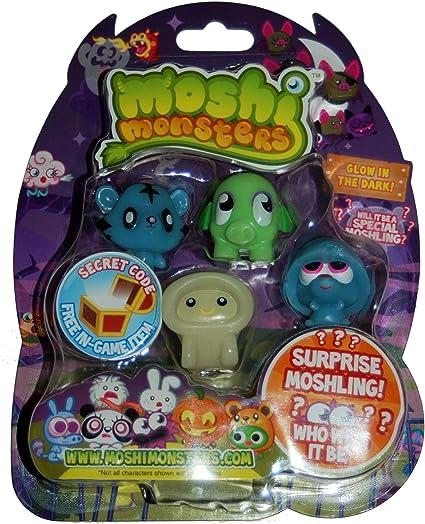 Amazon.com: Moshi Monsters Halloween Moshlings 5 Pack ...