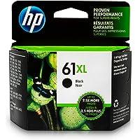 HP 61XL Black High Yield Original Ink Cartridge For HP ENVY 4500, 4501, 4502, 4504, 4505, 5530, 5531, 5532, 5534, 5535, 5539, HP Officejet 2620, 2621, 4630, 4632, 4635, HP Deskjet 1000, 1010, 1012, 1050, 1051, 1055, 1056, 1510, 1512, 1514, 1051, 20…