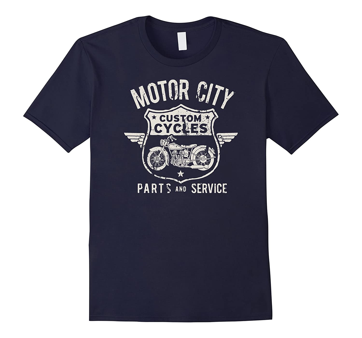Big Texas Detroit Motor City T-Shirt-TH