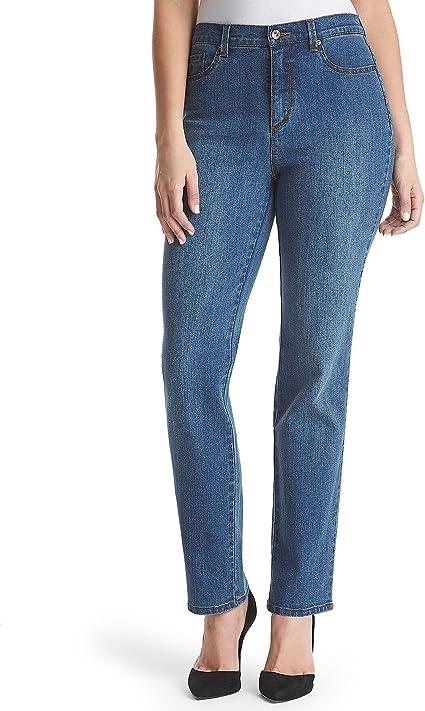 Chelsea 6 Short Gloria Vanderbilt Womens Amanda Straight Leg Jean