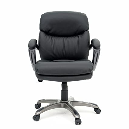 Attractive Sauder 410008 Office Chair Black Duraplush Managers
