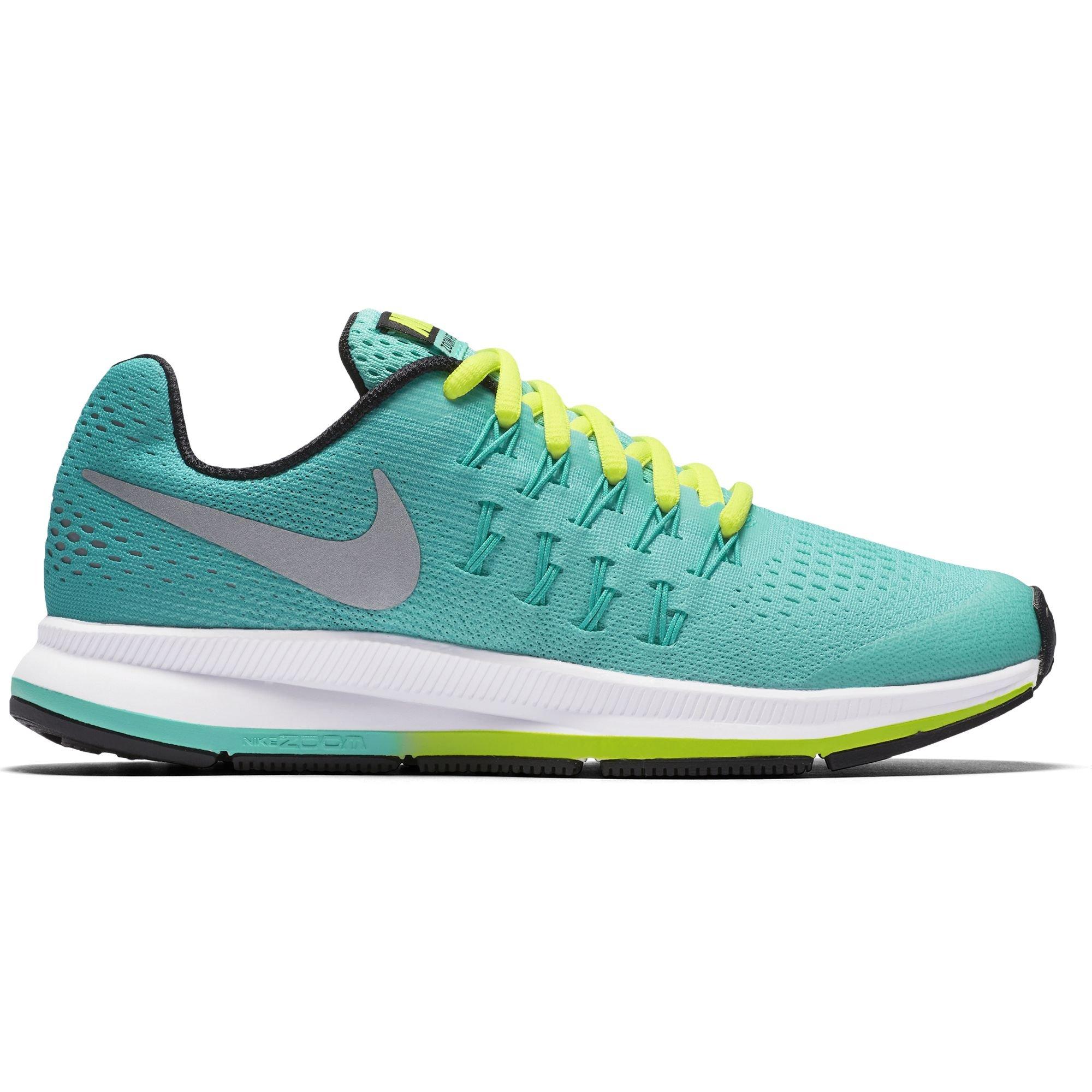 new arrival 8d800 6b797 Galleon - Nike Zoom Pegasus 33 (GS) Running Shoe Hyper Turquoise Metallic  Silver Jade, Size 4.5