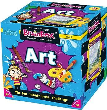 Green Board Games BrainBox Art- Juego de Mesa (en inglés) [Importado de Gran Bretaña]: Amazon.es: Juguetes y juegos