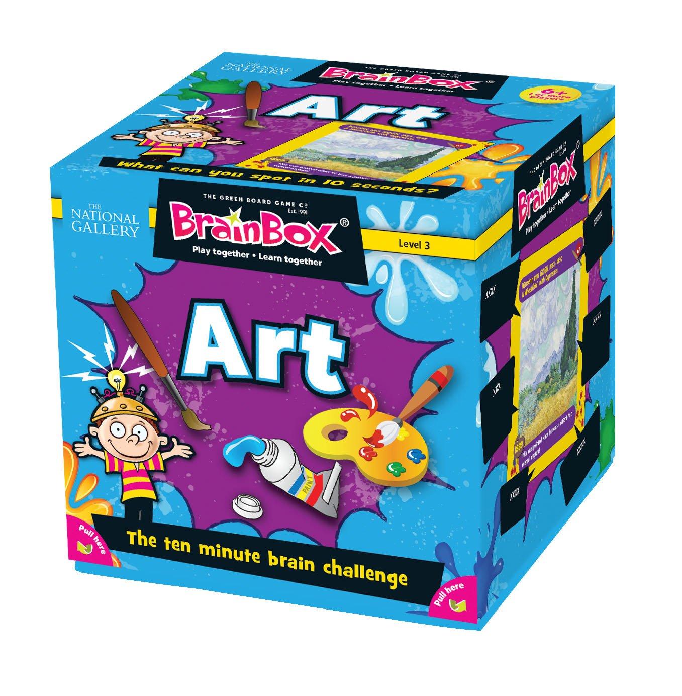 Green Board Games BrainBox Art- Juego de mesa (en inglés) [Importado de Gran Bretaña] 01789