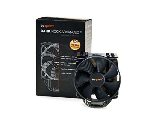 8 opinioni per Be Quiet BK014 Dark Rock Advanced F. Intel & AMD Ventola di Raffreddamento, Nero
