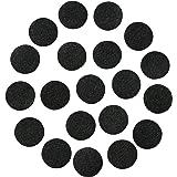 """Black Adhesive Felt Circles; 1/2"""" Wide, 3/4"""" Wide, 1"""" Wide or 1.5"""" Wide; Various Package Sizes; Wholesale, Die Cut; DIY…"""