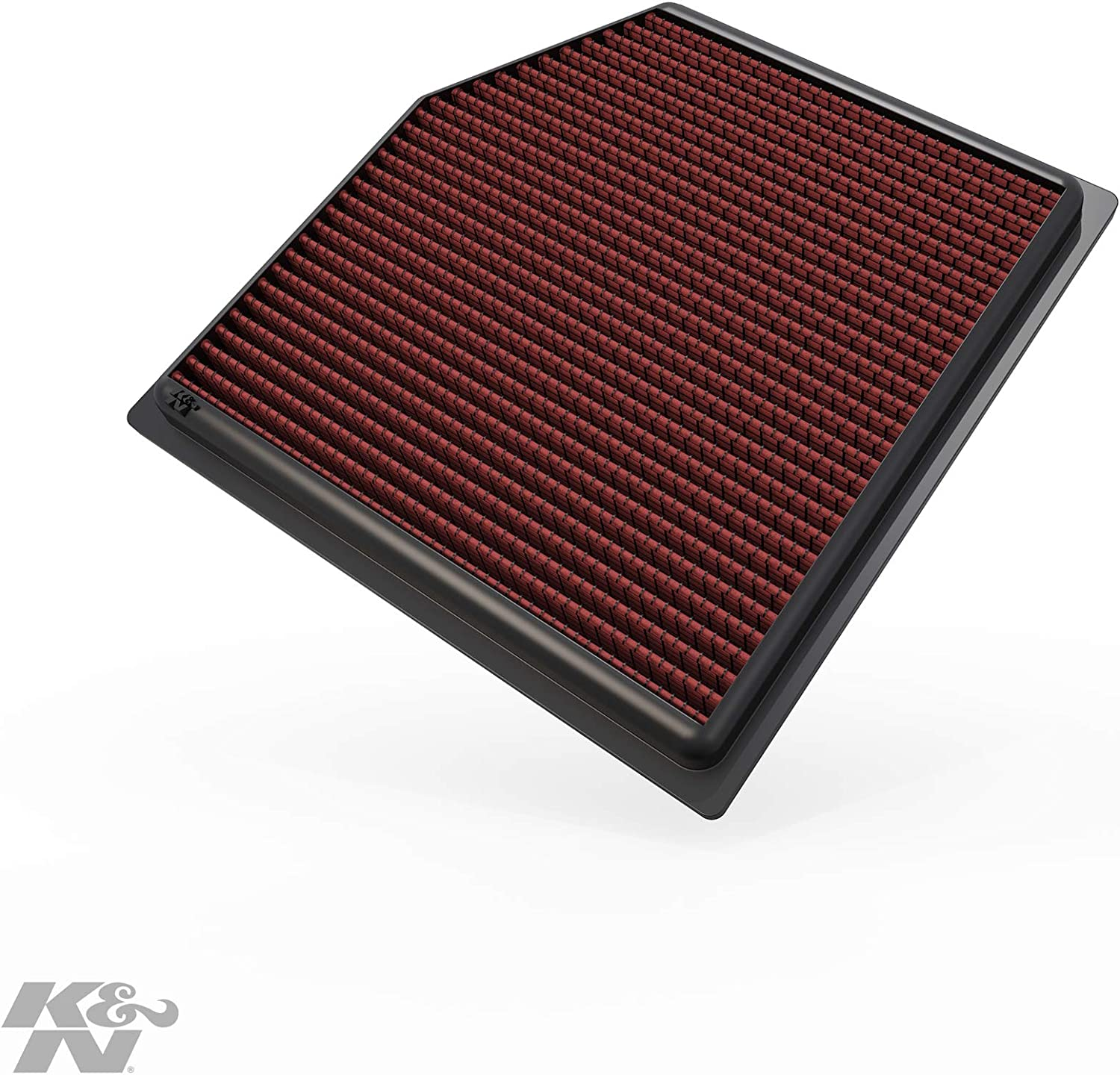 K&N Engine Air Filter: High Performance, Premium, Washable, Replacement Filter: 2010-2019 Lexus/Toyota (GS 300, GS 350, IS 300, IS 350, RC 300, RC 350, Vellfire, Alphard, Mark X), 33-2452