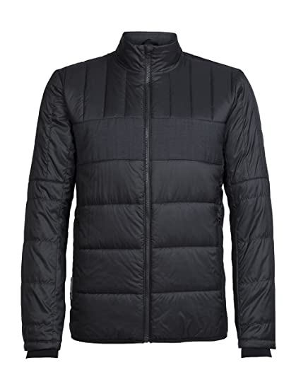 6a24b464aa Amazon.com: Icebreaker Merino Men's Stratus X Jacket, Merino Wool ...