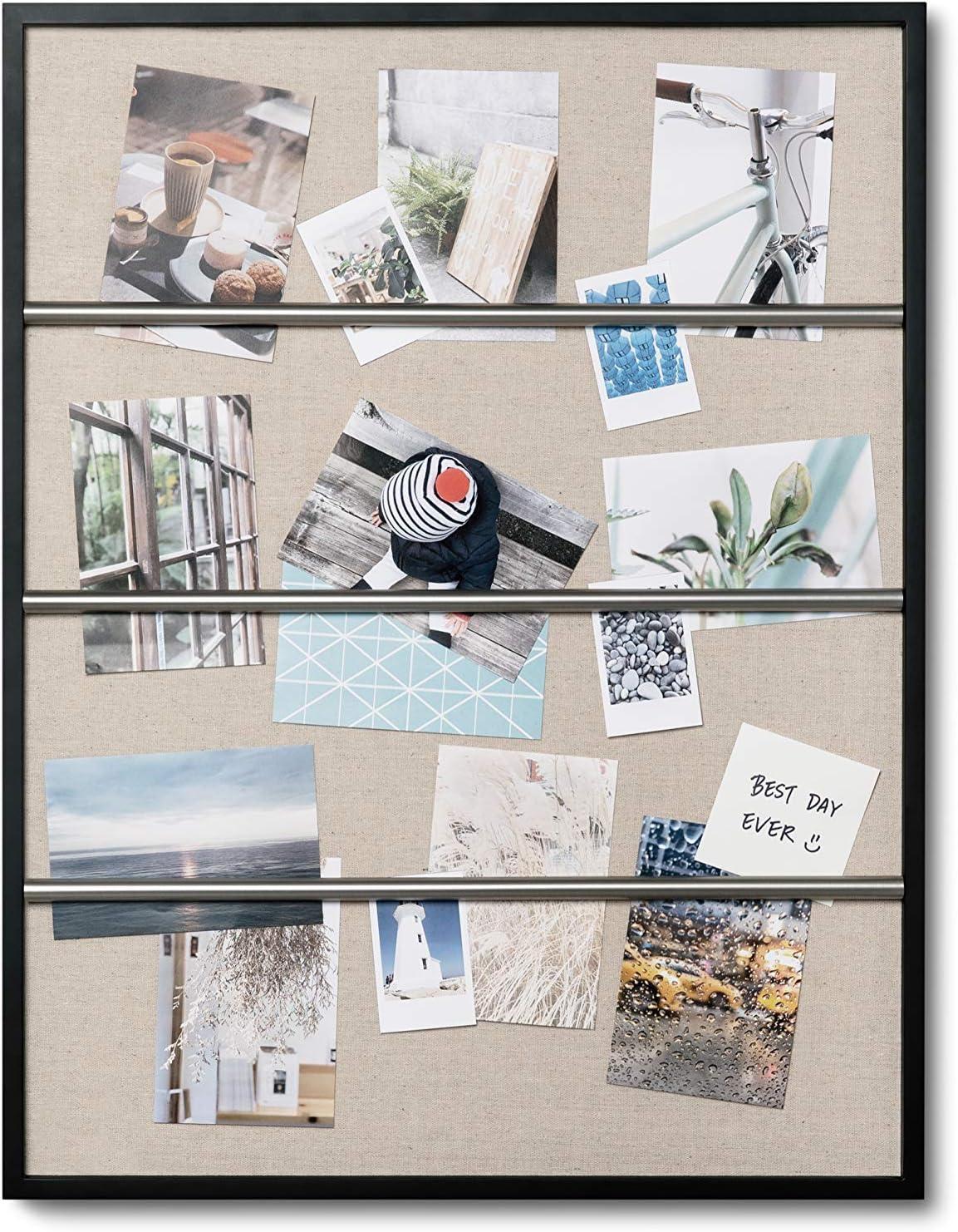 Umbra Tucker Photo Display Decor, Wall Art for Home, Office or Dorm, Black
