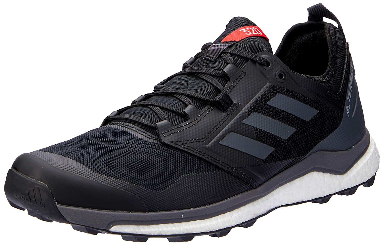 Core Black grey hires Red 7 US adidas Australia Men's Terrex Agravic XT Trail Running shoes, Core Black Grey HiRes Red