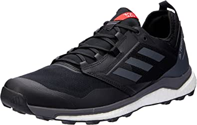 adidas Men's Terrex Agravic XT Trail Running Shoes, Core Black/Grey/Hi-Res Red