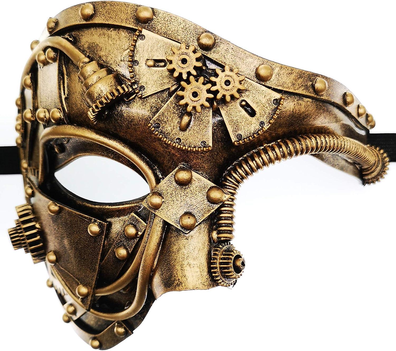 Halloween costume Masquerade prom Party cat mask Venetian Phantom of Opera