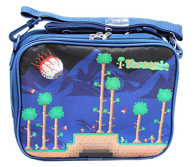Terraria Navy Blue Colored Insulated Kids Lunch Bag