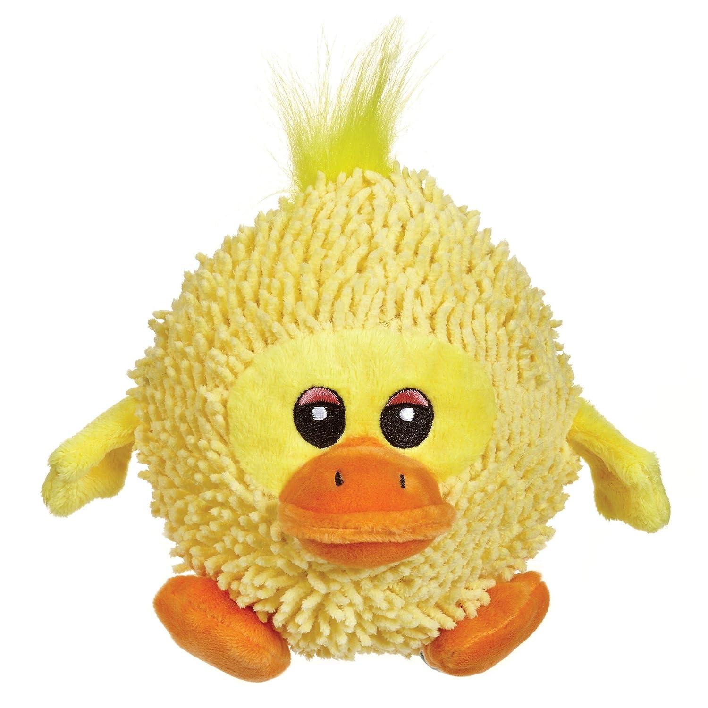 Duck Zanies Silly Shaggies Dog Toy, Duck