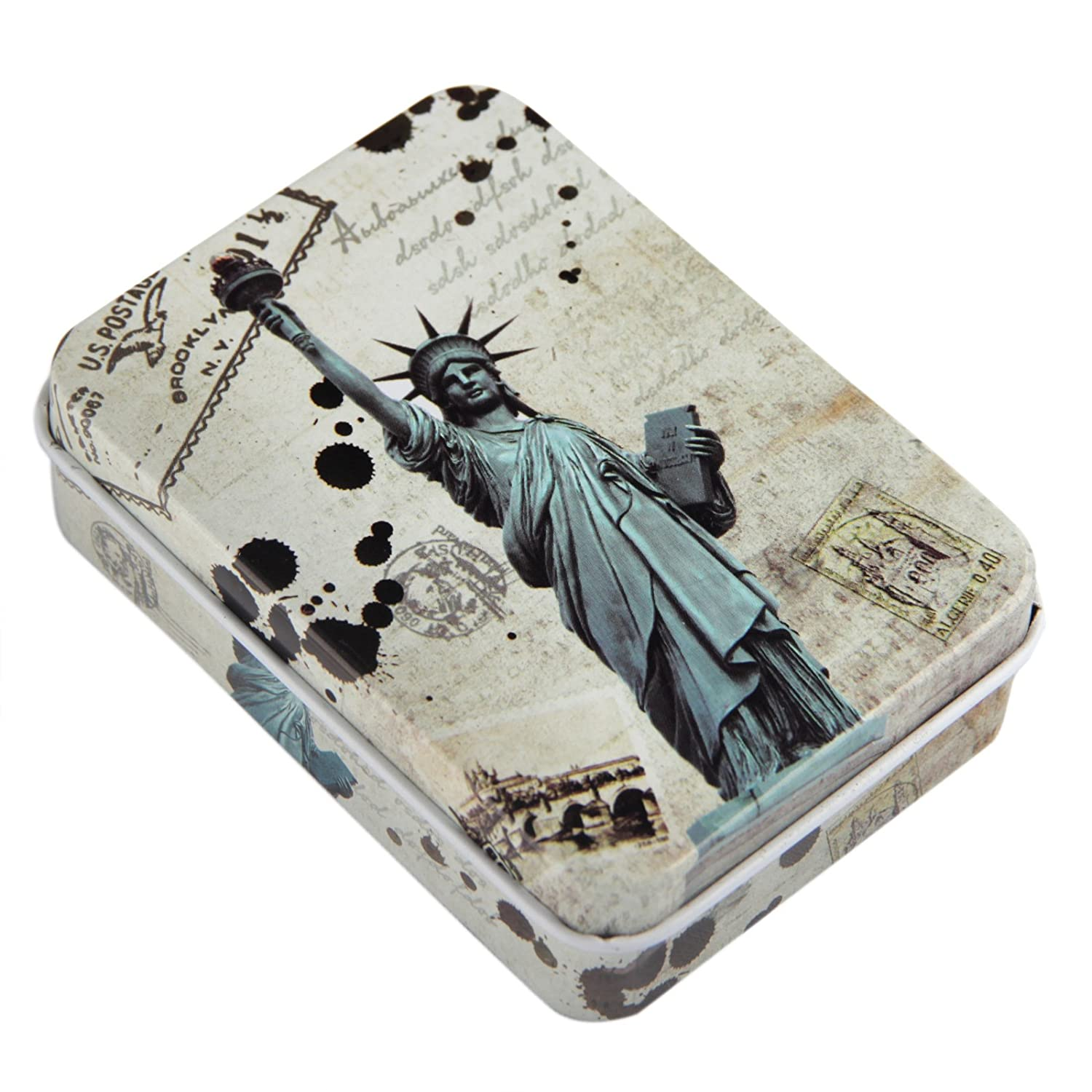 Matches Strike Almost Anywhere in Vintage Style Tin Container Hand Packed in USA Steve Kaeser Since 1989