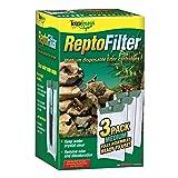 Tetra ReptoFilter Filter Cartridges, With Whisper Technology (Color: green, Tamaño: Medium, 3-Pack)