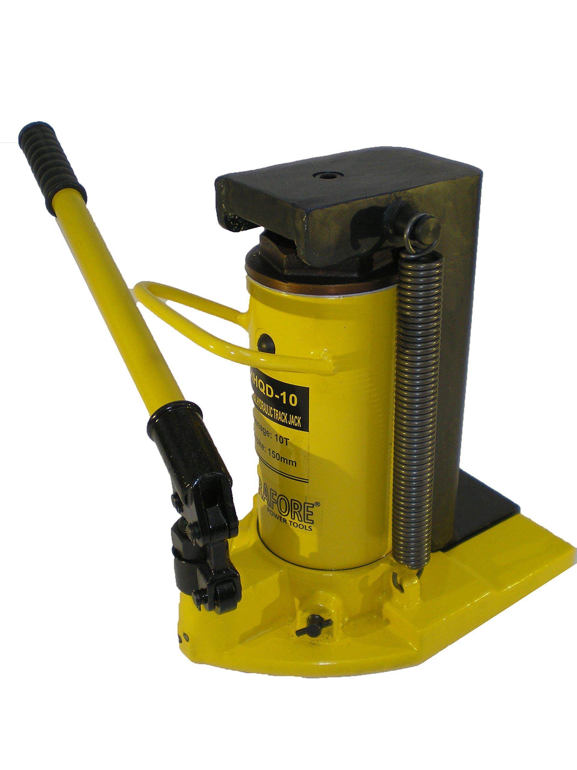 10 Ton Hydraulic Toe Jack Ram Machine Lift Cylinder QD-10 by HYDRAFORE (Image #2)