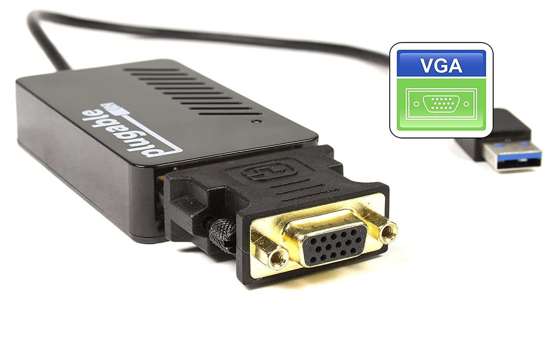 Amazon.com: USB 3.0 a VGA / DVI / HDMI Tarjeta de vídeo ...