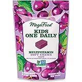MegaFood, Kids Multivitamin Soft Chews, Daily Supplement, Supports Child Development and Growth, Gluten-free, Vegetarian, Gra