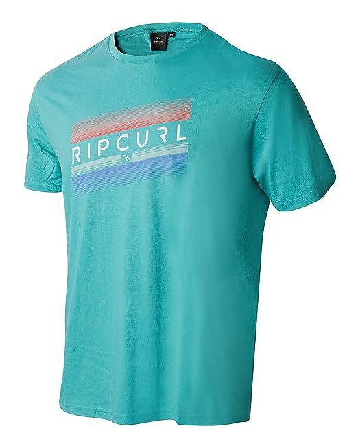 Camiseta casual hombre Rip Curl verde - 47566 (M)