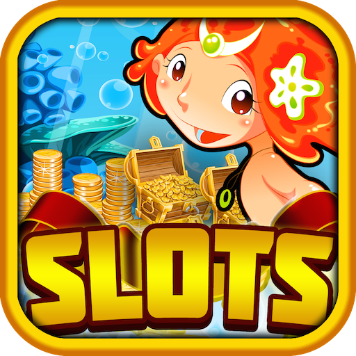 A Magic Slots Fun World of Mermaid Witches & Monsters Casino Craze for Android & Kindle Fire Free (1up Casino Kindle Fire)