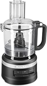 KitchenAid KFP0718BM Food Processor, 7 cup, Matte Black