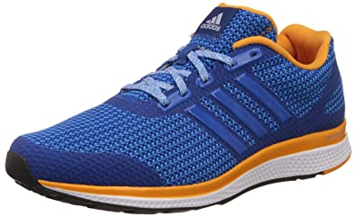 49d7d86ba adidas Mana Bounce Mens Running Sneakers Shoes-Blue-8