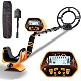 Sun POW Metal Detector for Adults & Kids, High Accuracy Metal Detector, LCD Display with Adjustable Light, Pinpoint Function
