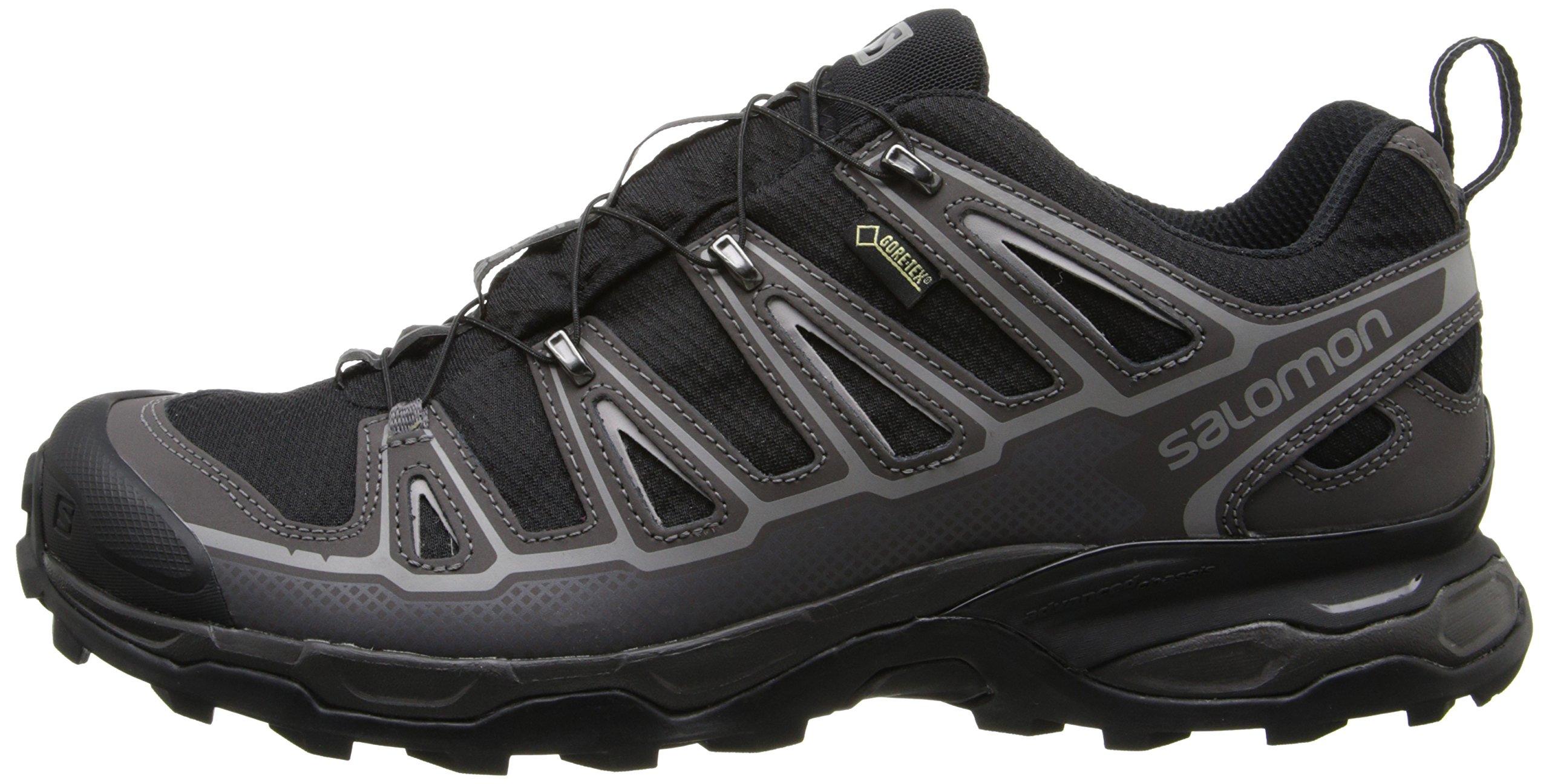 Salomon Men's X Ultra 2 GTX Hiking Shoe, Black/Autobahn/Aluminum, 7 M US by Salomon (Image #5)