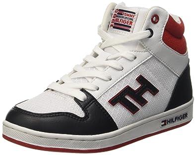 6e9f85e6d6b7 Tommy Hilfiger Boys  B3285ASKET 3S High Top Trainers