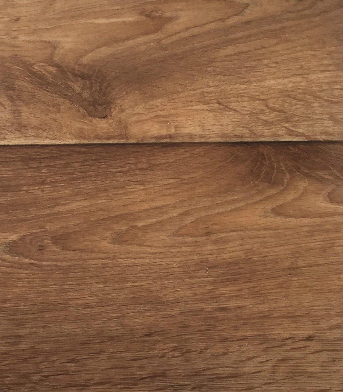 CV-Belag im Landhausdielen-Stil CV-Boden wird in ben/ötigter Gr/ö/ße als Meterware geliefert PVC-Belag verf/ügbar in der Breite 400 cm /& in der L/änge 450 cm PVC Vinyl-Bodenbelag in Walnuss Optik