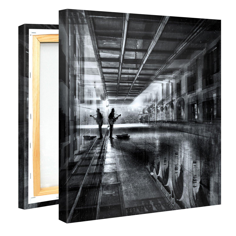 Premium Leinwanddruck 100x50 cm – Original Grunge – XXL Kunstdruck ...