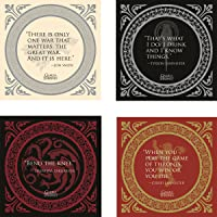 Dark Horse Deluxe Game of Thrones: Quotes Coaster Set