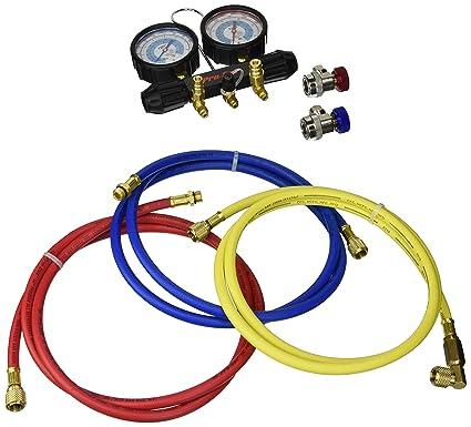 "Refrigeration Gauge Hose CPS Pro-Set 1//4/"" Replacement Hose Gaskets 5 Pack"