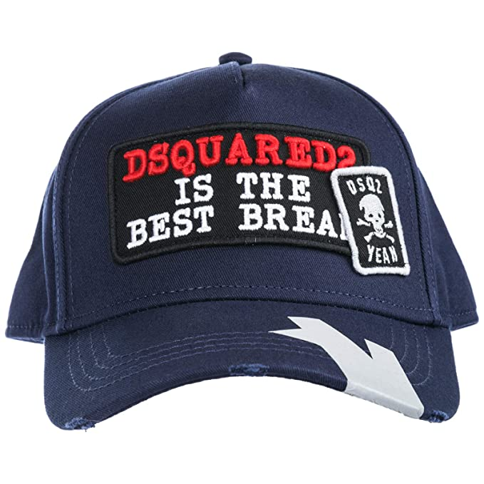 Dsquared2 Beast Break Gorra de Beisbol Hombre BLU: Amazon.es: Ropa ...