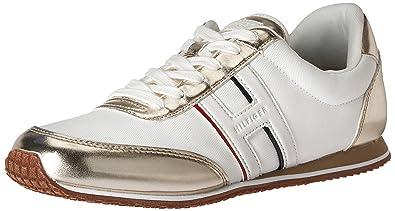 Tommy Hilfiger Femmes Chaussures De Sport A La Mode Couleur