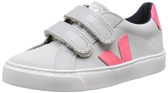 Veja Esplar Velcro - Zapatillas Unisex Niños: Amazon.es: Zapatos y complementos