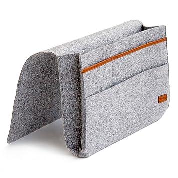 Amazon Com Kenley Bedside Caddy Bed Skirt Storage Pocket