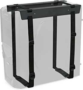 VIVO Black Under-Desk and Wall Mount PC Adjustable Strap and Steel Bracket Holder, Computer Case Carrier (MOUNT-PC02S)