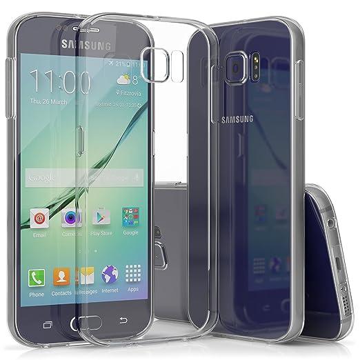 19 opinioni per SDTEK Samsung Galaxy S6 Custodia Cover Case Bumper Caso Trasparente Crystal