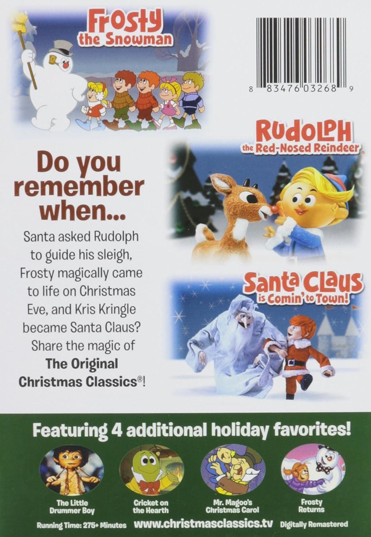 Amazon.com: The Original Christmas Classics Gift Set with Frosty ...