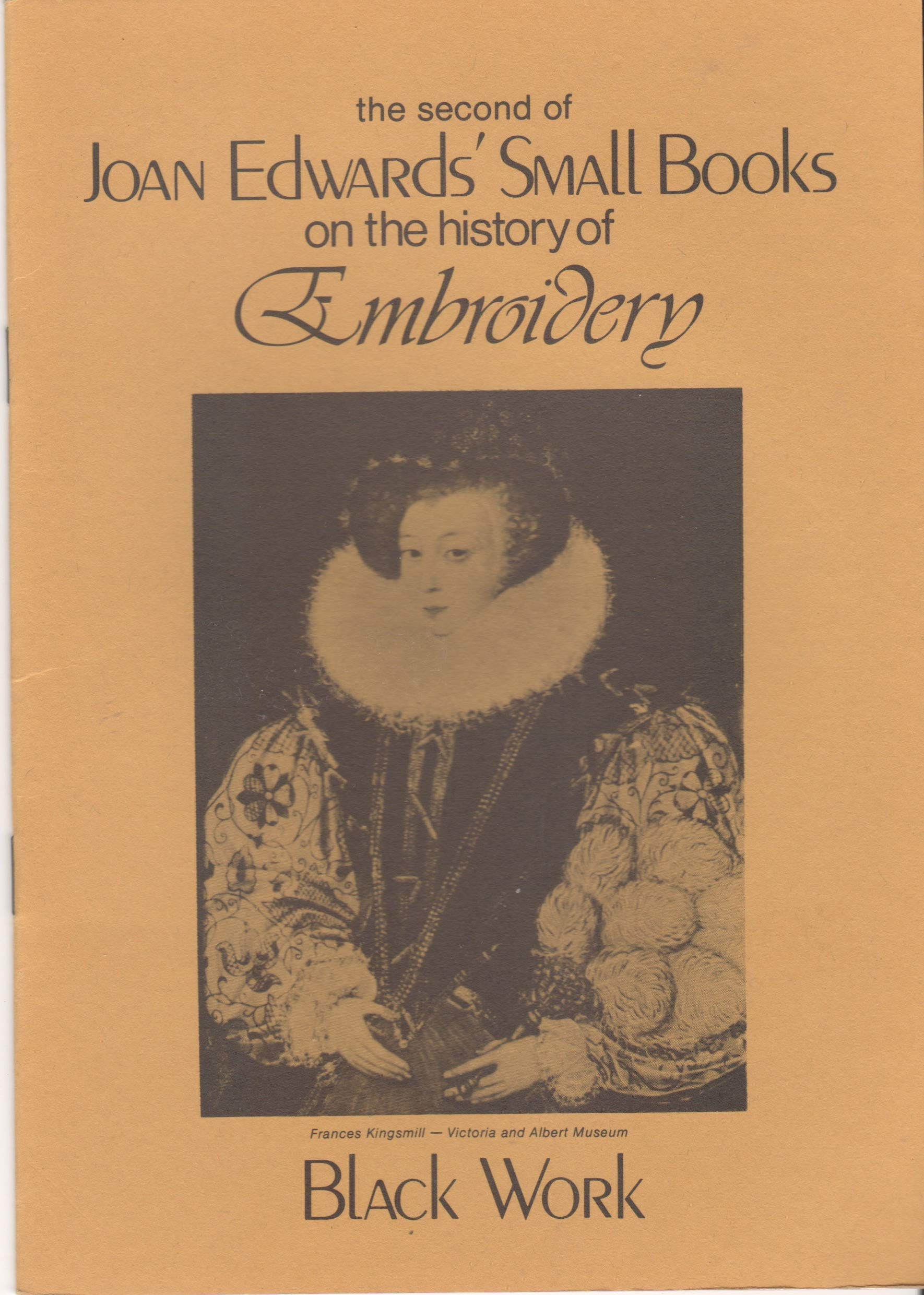 Small Books on the History of Embroidery: Black Work: Amazon.co.uk: Joan  Edwards: 9780907287001: Books