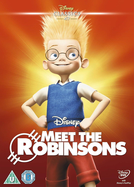 Amazon Com Meet The Robinsons Region 2 Stephen Anderson Movies Tv