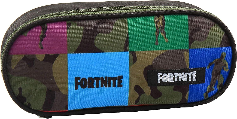 Fortnite XL Square - Estuche (22,5 x 9,5 x 5 cm), multicolor: Amazon.es: Oficina y papelería