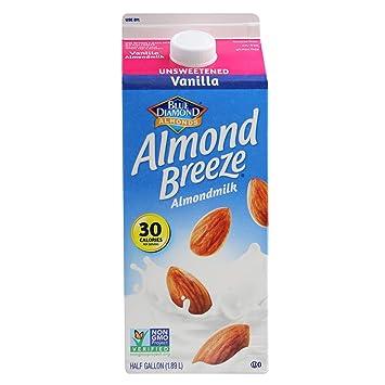 Almond Breeze Unsweetened Vanilla, Almondmilk, 64 Fl Oz