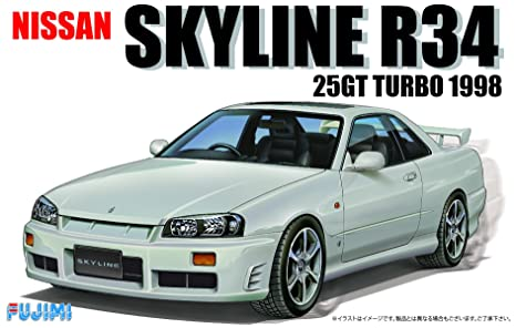 Fujimi 1/24 Inch Up Series No.124 Nissan R 34 skyline 25 GT