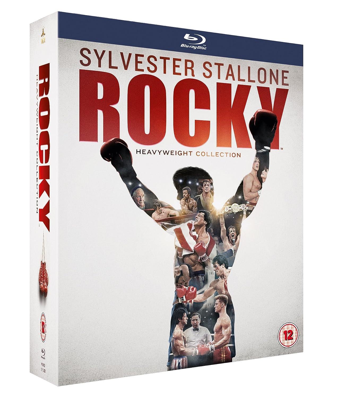 Rocky: The Complete Saga 6 Blu-Ray Edizione: Regno Unito Reino Unido Blu-ray: Amazon.es: Cine y Series TV