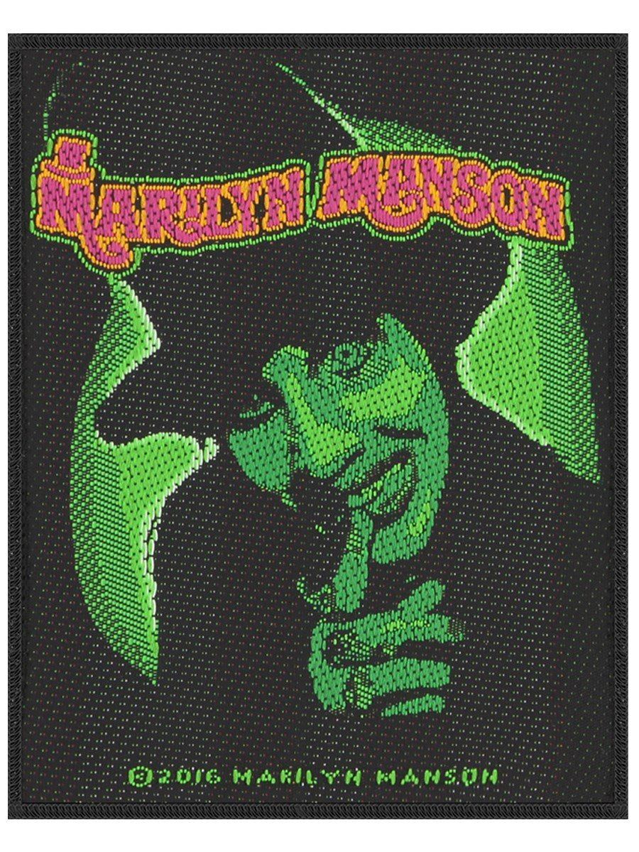 Marilyn Manson Smells like children Toppa nero Grindstore SP2882