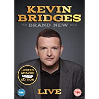 Kevin Bridges: The Brand New Tour - Live (Limited Edition Amazon Exclusive Signed Sleeve) [DVD] [2018]