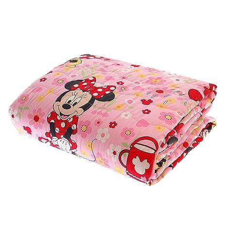 Copriletto Trapuntato Caleffi Disney.Trapuntino Caleffi Disney Minnie Copriletto Trapuntato Primaverile Estivo 170x270 Cm